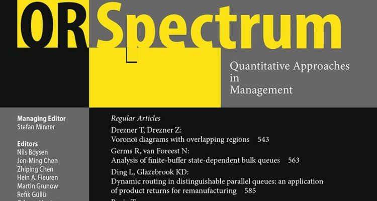 Call for papers: OR Spectrum